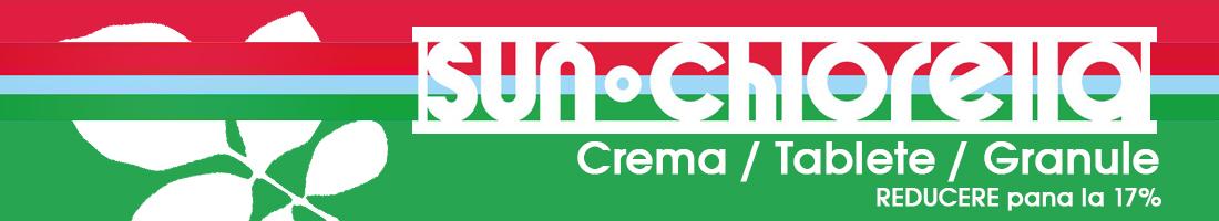 Sun Chlorella Crema Tablete Granule